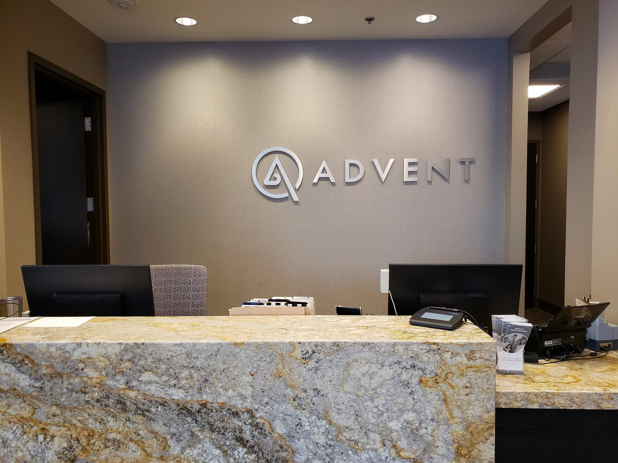ADVENT Mequon Reception Area