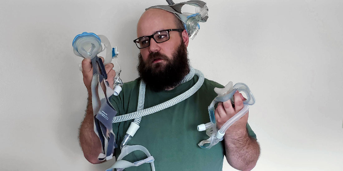 Erik and His CPAP Masks
