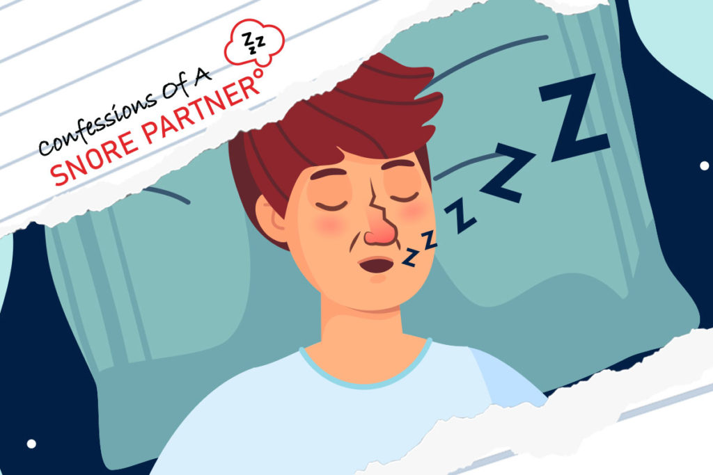 ADVENT - Confession of a Snore Partner - What a Crooked Nose Means - 2021